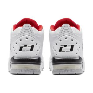 Jordan Big Fund GS Kinder Sneaker weiß schwarz rot BV6434 100 – Bild 4