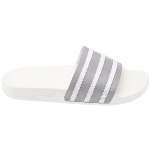 adidas Originals Adilette Badeschuhe off white grey CG6435 – Bild 1