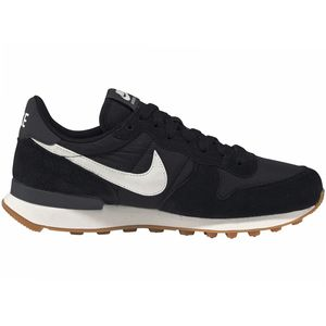 Nike W Internationalist Damen Sneaker schwarz weiß