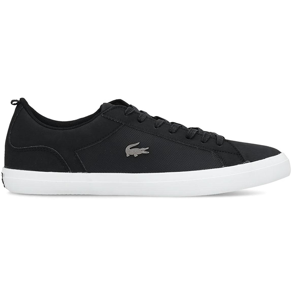 finest selection 6b82d d0019 Lacoste Lerond 119 Herren Sneaker Leather schwarz low