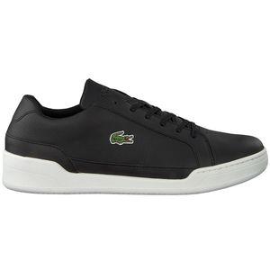 Lacoste Challenge Herren Sneaker Leather schwarz weiß low