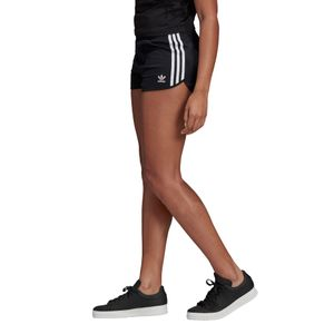 adidas Originals 3-Stripes Short Damen schwarz weiß DV2555 – Bild 3