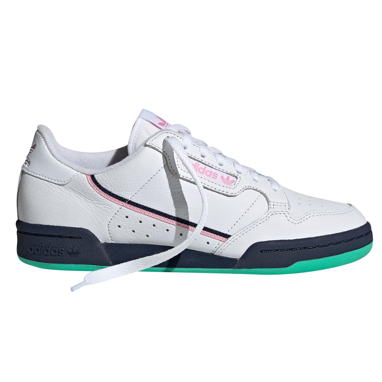 adidas Originals Continental 80 W Sneaker weiß pink blau grün G27724
