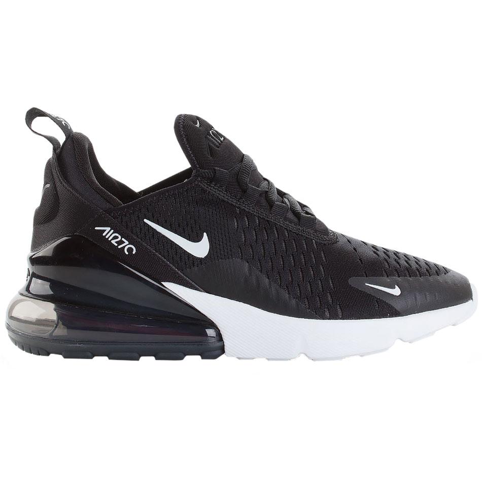 Nike Air Max 270 GS Kinder Sneaker schwarz weiß 943345 001
