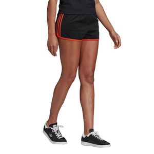 adidas Originals 3-Stripes Short Damen schwarz orange DU9938 – Bild 3