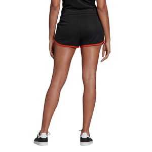 adidas Originals 3-Stripes Short Damen schwarz orange DU9938 – Bild 7