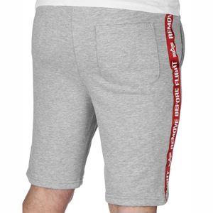 Alpha Industries RBF Tape Jogger Short Herren grau 196319/17  – Bild 2