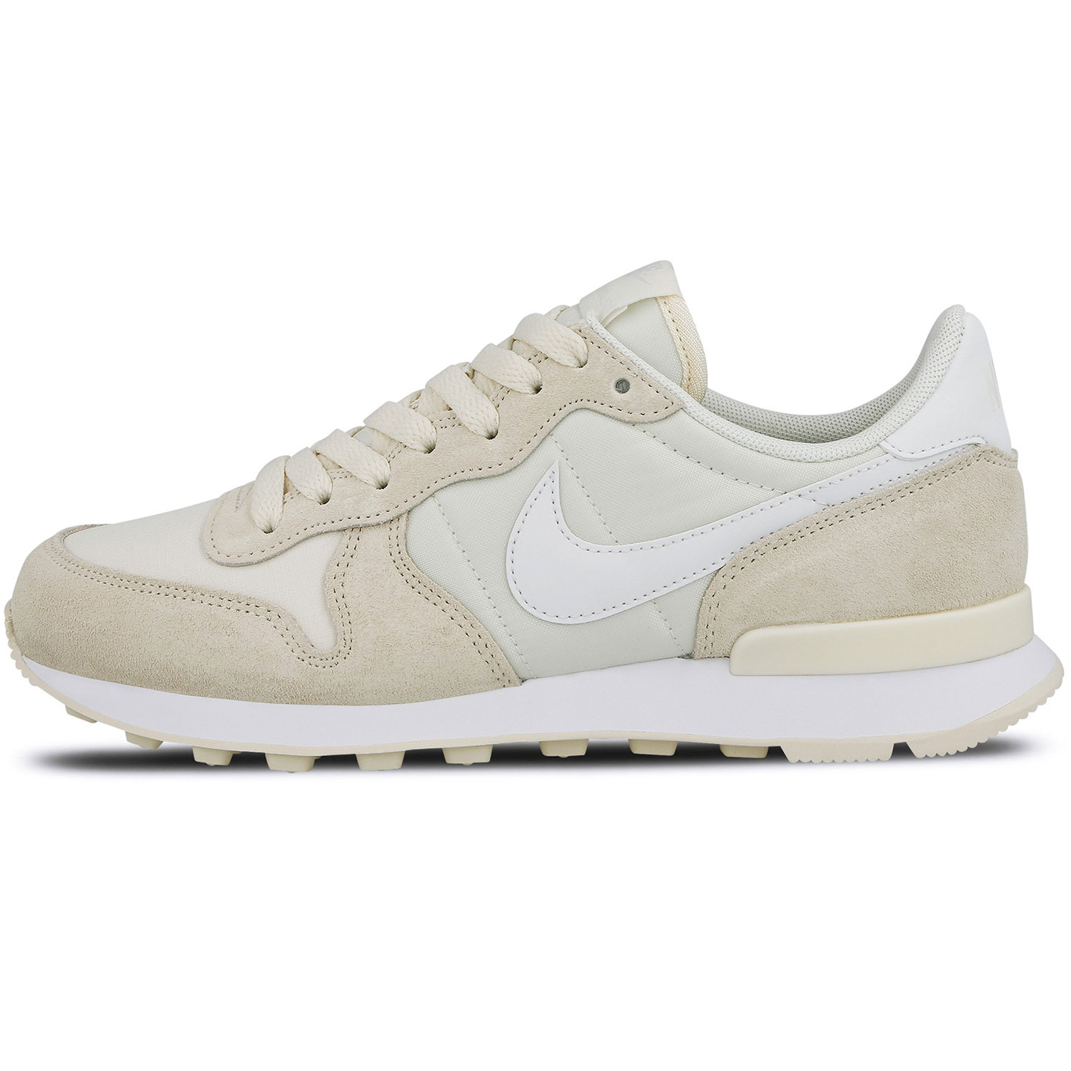 Nike WMNS Internationalist Damen Sneaker pale ivory 828407 104
