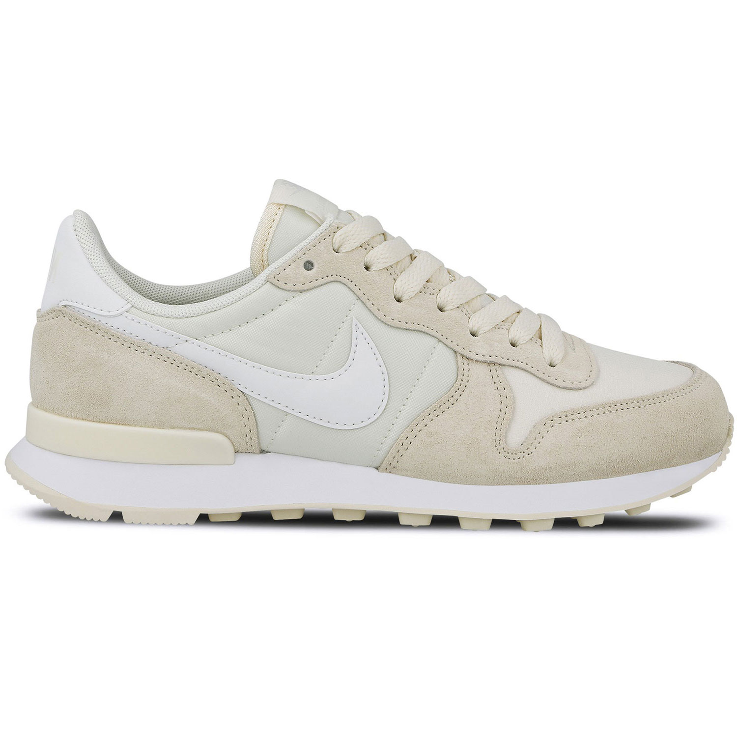 Nike WMNS Internationalist Damen Sneaker creme weiß 828407 104