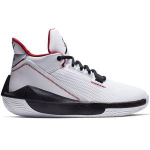 Jordan 2X3 Basketball High-Top Sneaker Herren weiß schwarz rot – Bild 1