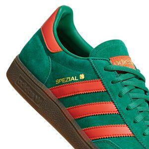 adidas Originals Handball Spezial Herren Sneaker grün orange BD7620 – Bild 3