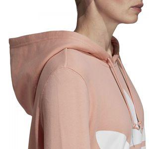 adidas Originals Trefoil Hoodie Damen dusk pink DV2560 – Bild 2