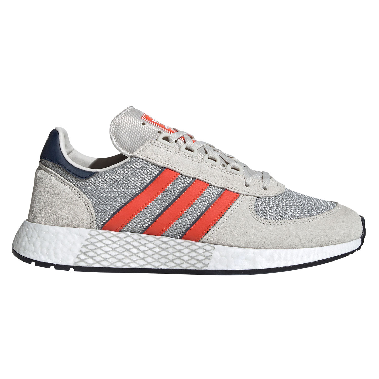 new specials sale online factory outlet adidas Originals Marathon Tech Herren hellgrau orange EE4917