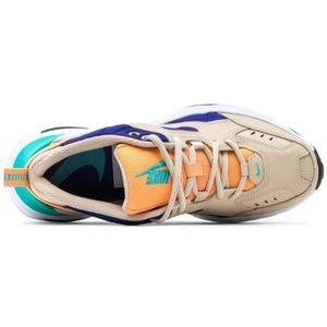 Nike W M2K Tekno Damen Sneaker beige blau orange AO3108 204 – Bild 4