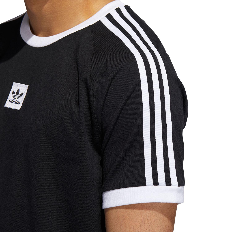 adidas Originals Cali 2.0 Tee Herren T Shirt schwarz weiß EC7375