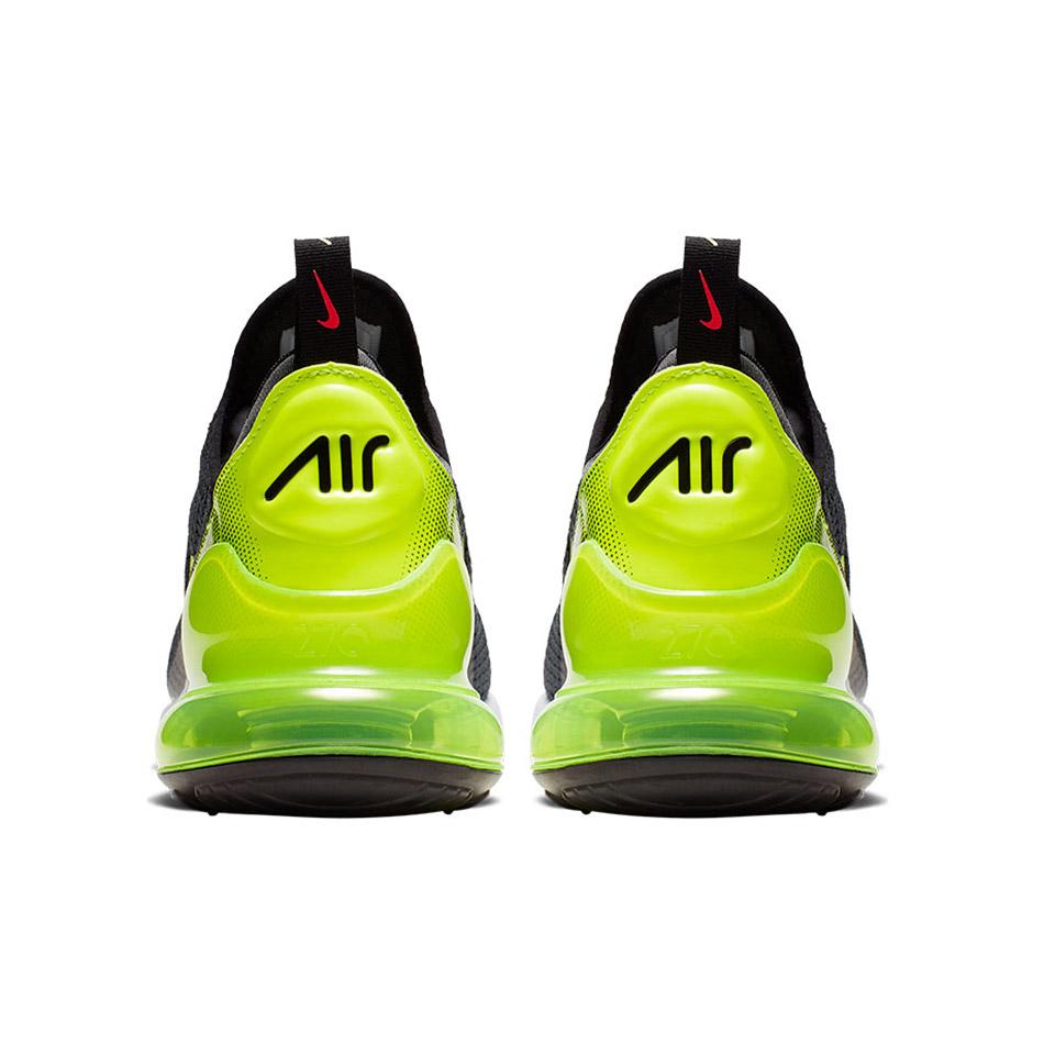Nike Air Max 270 SE Herren Sneaker grau neongrün AQ9164 005