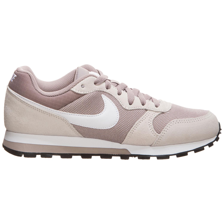 Nike WMNS MD Runner 2 Damen Retro Sneaker beige weiß 749869 201