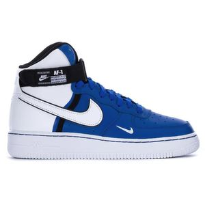 Nike Air Force 1 High LV8 2 GS Sneaker blau weiß CI2164 400 – Bild 1