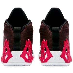Jordan Jumpman Diamond Mid Herren Sneaker schwarz weiß rot CI1204 006 – Bild 4