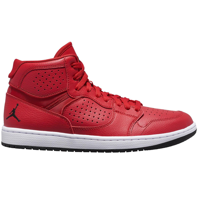 Jordan Access High Top Sneaker Herren rot weiß