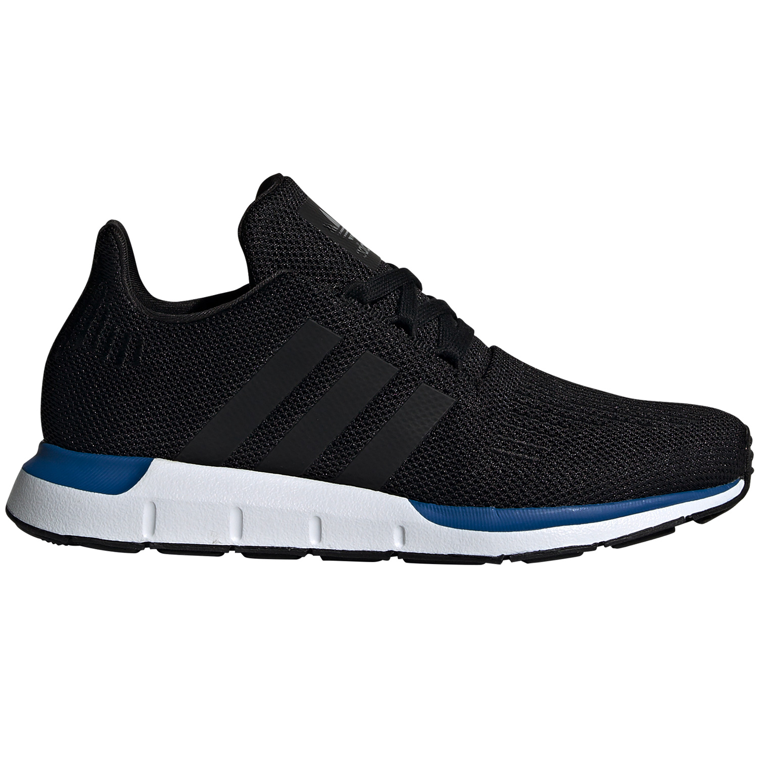 crazy price best authentic new images of adidas Originals Swift Run J Kinder Sneaker schwarz weiß blau EE7025