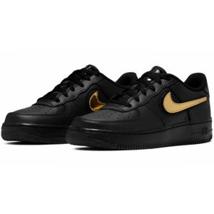 Nike Air Force 1 LV8 3 GS Sneaker schwarz metallic AR7446 001 – Bild 3