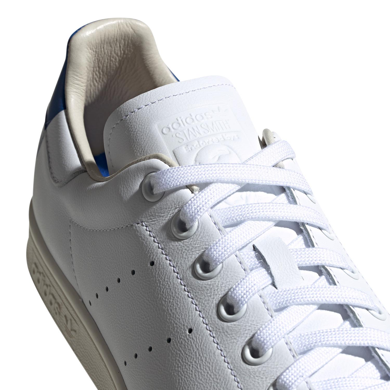 adidas Originals STAN SMITH Leder Sneakers Weiß Grau Herren