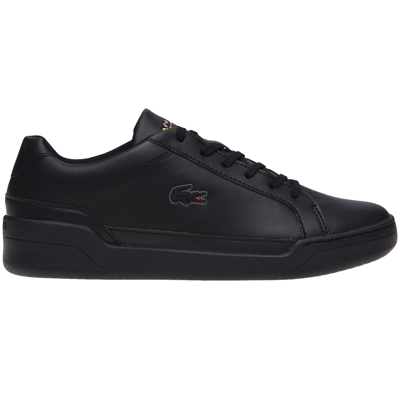 Lacoste Challenge Herren Sneaker Leather schwarz low