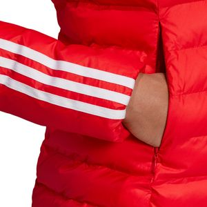 adidas Originals Slim Jacket Damen Steppjacke rot weiß ED4785 – Bild 5