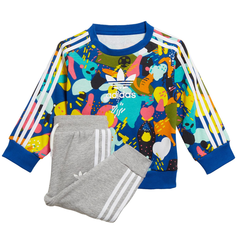 adidas Originals Crew Set Kleinkind Anzug mehrfarbig ED7711