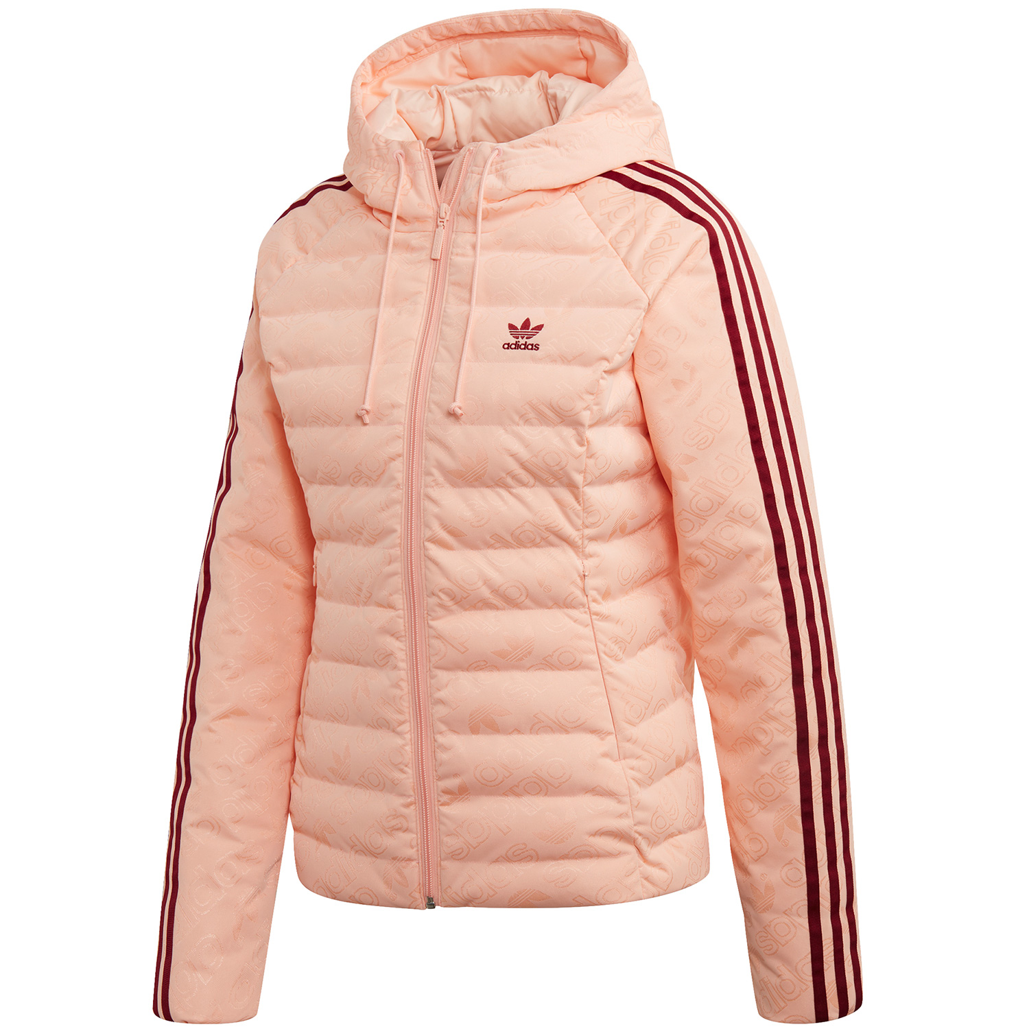 adidas Originals Slim Jacket Damen Steppjacke rosa ED4739 |