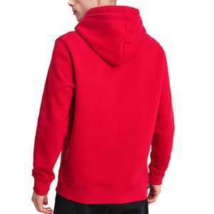 Alpha Industries Herren Basic Hoody speed red – Bild 2