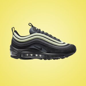 Nike Air Max 97 GS Sneaker black barely volt 921522 016 – Bild 2
