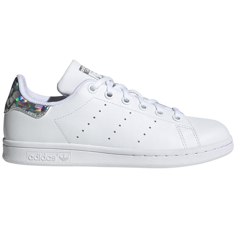 adidas Originals Stan Smith J Sneaker weiß Glitzer EE8483