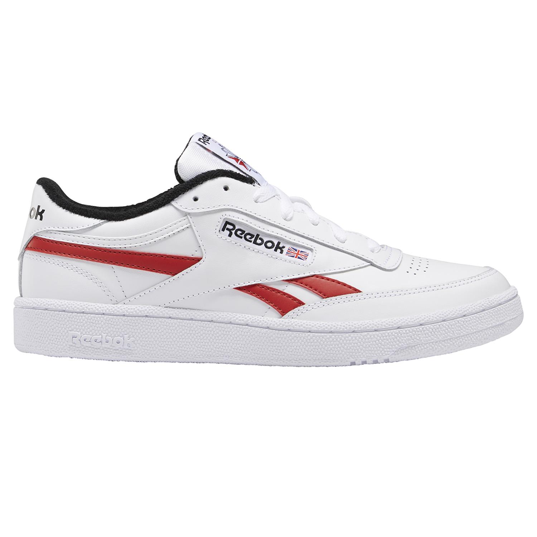 Reebok Sneaker Club C Revenge MU Herren weiß rot schwarz EF3220