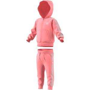 adidas Originals Lock Up Hoodie Kleinkinder Anzug pink FM5603 – Bild 1