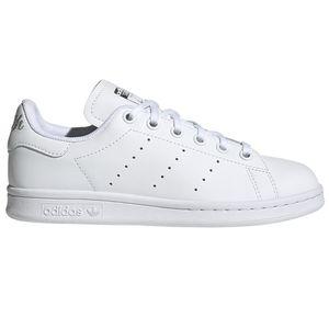 adidas Originals Stan Smith J Sneaker weiß silber EF4913 – Bild 1