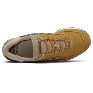 New Balance Schuhe ML574SOI Herren Sneaker braun   – Bild 3
