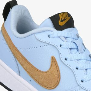 Nike Court Borough Low 2 FLT GS Kinder Sneaker blau braun  – Bild 5