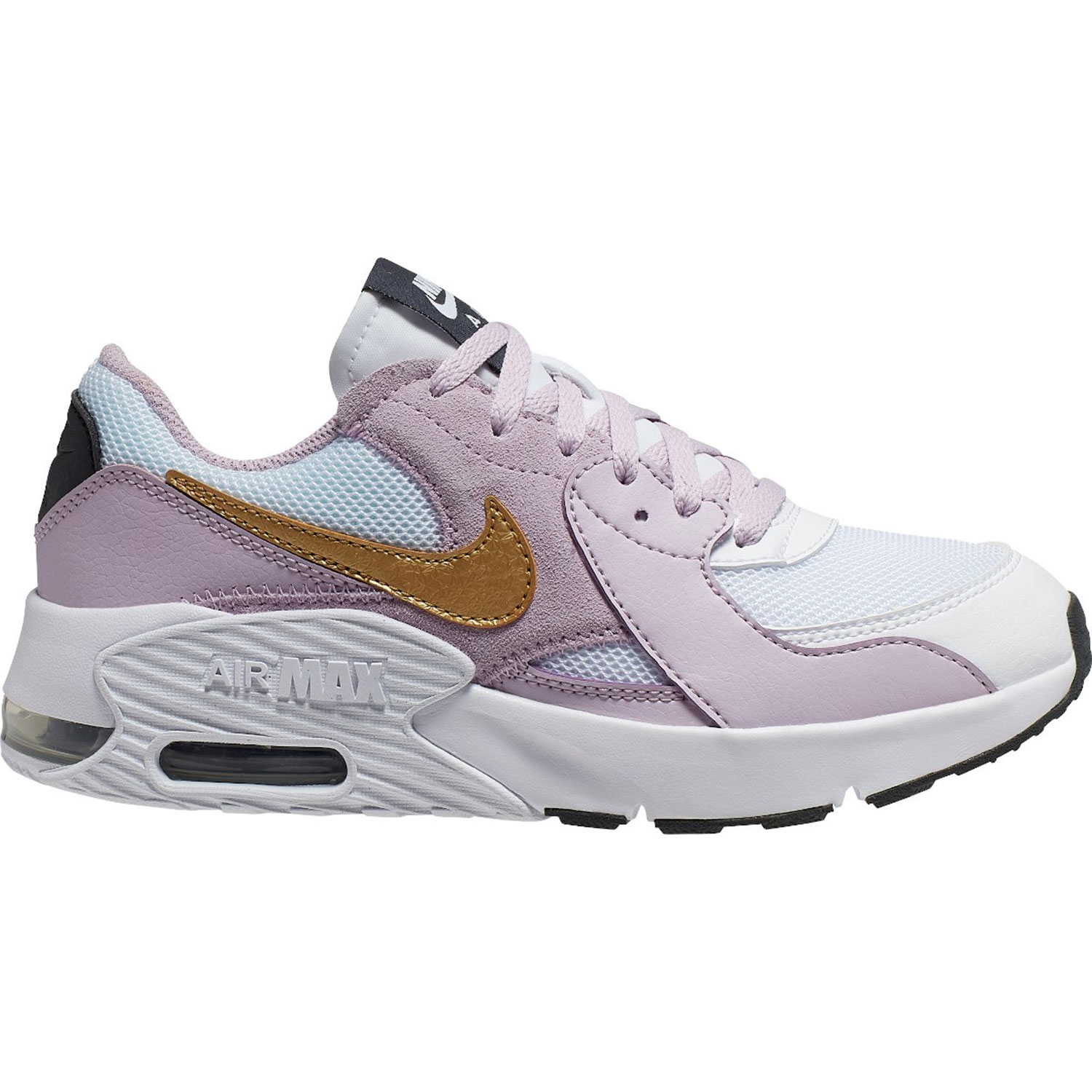 Nike Air Max Excee GS Kinder Sneaker lila gold