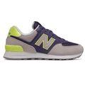 New Balance WL574SOU Damen Sneaker grau lila neon