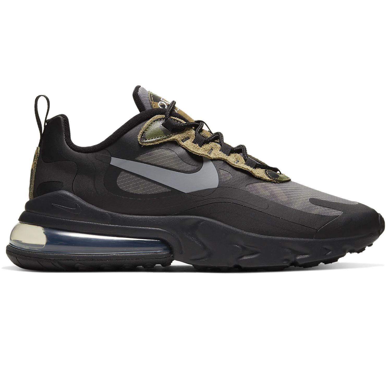 Nike Air Max 270 React Herren Sneaker schwarz camo