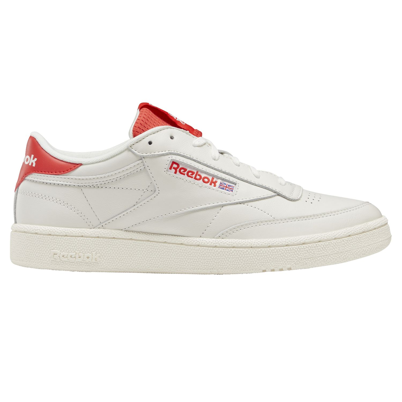 Reebok Club C 85 MU Herren Sneaker beige rot