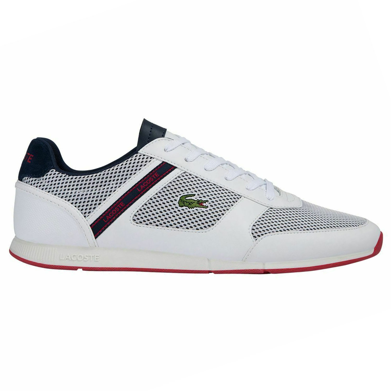 Lacoste Menerva Sport 120 Herren Sneaker weiß blau