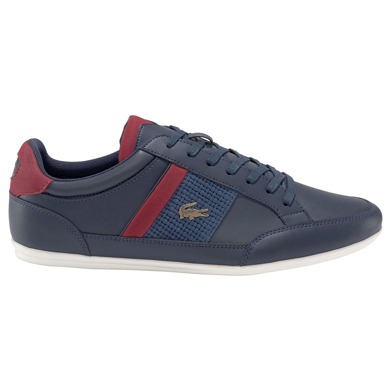 Lacoste Chaymon Herren Sneaker blau rot