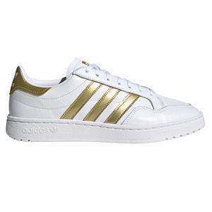 adidas Originals Team Court W Damen Sneaker weiß gold EF6058 – Bild 1