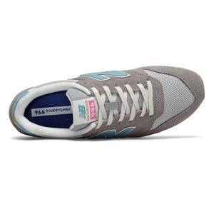 New Balance WL996COL Damen Sneaker grau blau pink – Bild 3