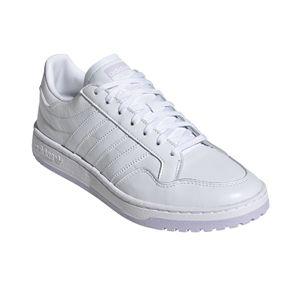 adidas Originals Team Court W Damen Sneaker weiß lila – Bild 3