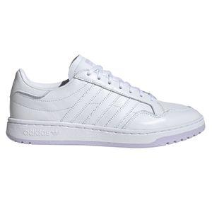 adidas Originals Team Court W Damen Sneaker weiß lila – Bild 1
