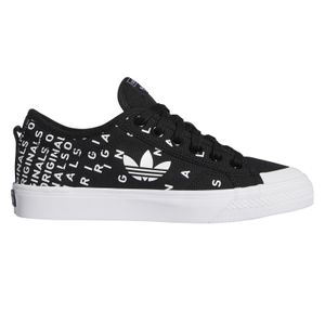 adidas Originals Nizza Trefoil W Damen Sneaker schwarz weiß – Bild 1